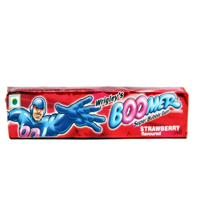 boomer chewing gum made