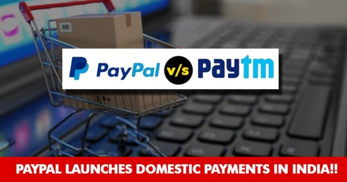 American Digital Payments Company PayPal Launches Domestic