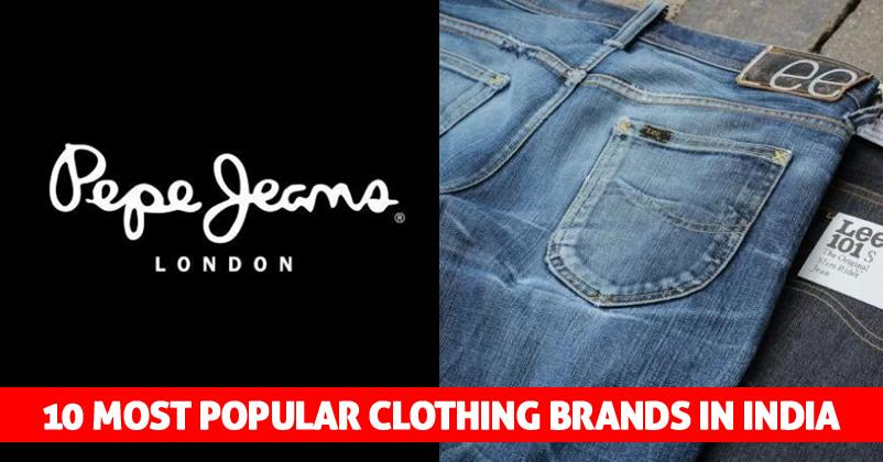 10 Most Popular Clothing Brands In India Marketing Mind