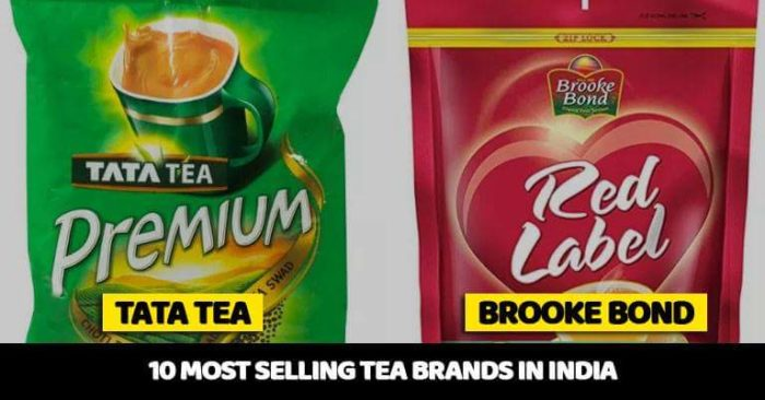Top 10 Most Selling Tea Brands In India 2018 - Marketing Mind