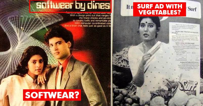 10 Old Bizarre Indian Print Ads That Will Make You Wonder Why Brands Made Them Marketing Mind