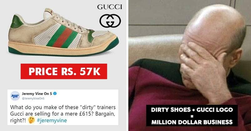 gucci dirty shoes price
