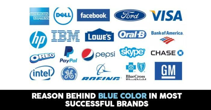 reasons why world s most successful brands have blue color in their logo marketing mind most successful brands have blue color