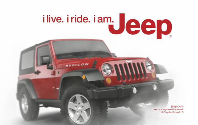 Jeep brands vehicle name