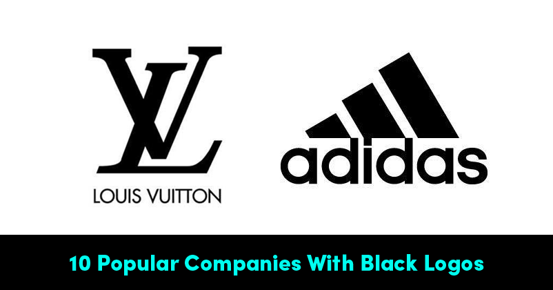 10 Popular Companies With Black Logos & Why Brands Use ...